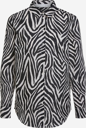 OUI Bluse in schwarz / weiß, Produktansicht