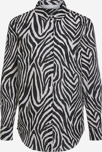 OUI Blouse in de kleur Zwart / Wit, Productweergave