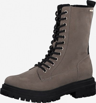 s.Oliver Lace-Up Ankle Boots in Taupe, Item view