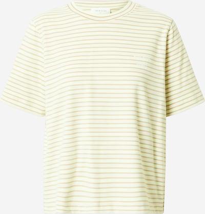 WOOD WOOD T-Shirt 'Alma' in beige / hellgrün / weiß, Produktansicht