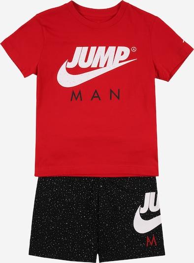 Jordan Set in rot / schwarz / weiß, Produktansicht