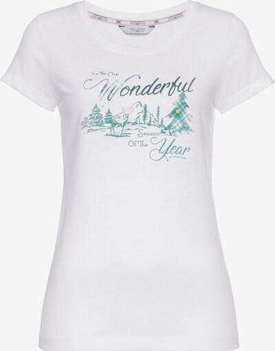 Tom Tailor Polo Team T-Shirt in weiß, Produktansicht