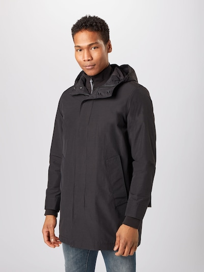 Banana Republic Between-seasons coat 'Transitional' in black, View model