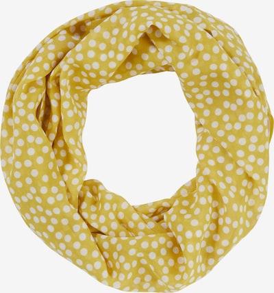 COMMA Tunnelsjaal in de kleur Geel / Wit, Productweergave