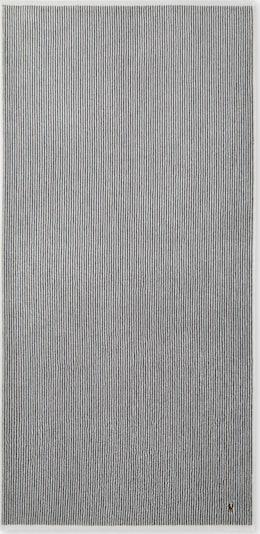 Ralph Lauren Duschtuch 'BAUER' in grau, Produktansicht