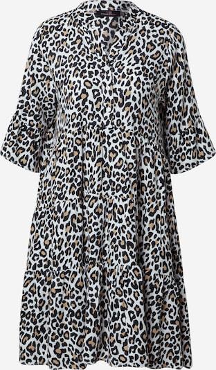 Zwillingsherz Robe-chemise 'Maja' en beige / noir / blanc, Vue avec produit