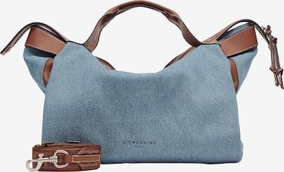 Liebeskind Berlin Handtasche in blue denim / braun, Produktansicht