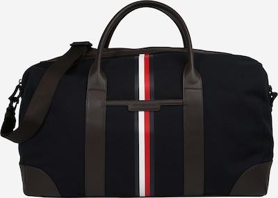 TOMMY HILFIGER Travel bag in night blue / pueblo / light red / white, Item view