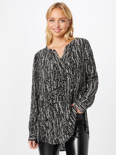 Ci comma casual identity Bluse in schwarz / weißmeliert, Modelansicht