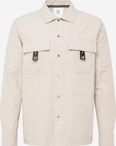 Calvin Klein Jeans Hemd in grau / grün / schwarz, Produktansicht