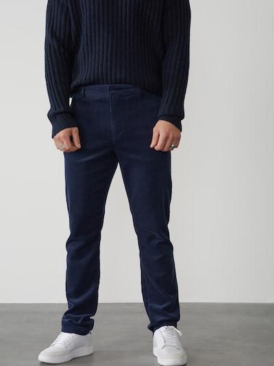 DAN FOX APPAREL Nohavice 'Berat' - námornícka modrá, Model/-ka