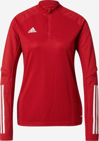 T-shirt fonctionnel 'Condivo 20' ADIDAS PERFORMANCE en rouge