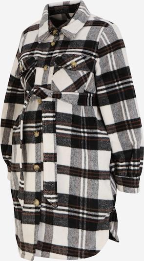 MAMALICIOUS Jacke 'Lolle' in braun / schwarz / weiß, Produktansicht