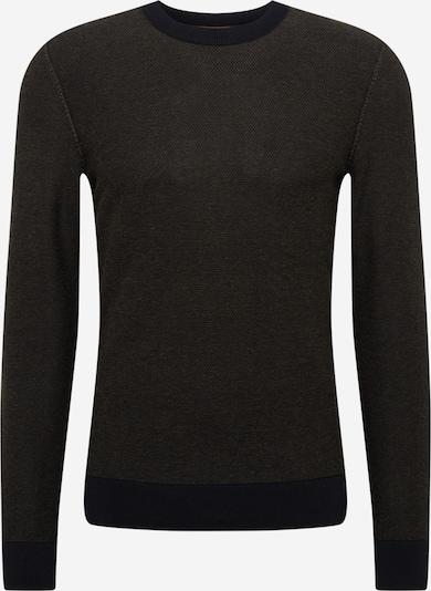 BOSS Casual Sweter 'Kamarsos' w kolorze nakrapiany czarnym, Podgląd produktu