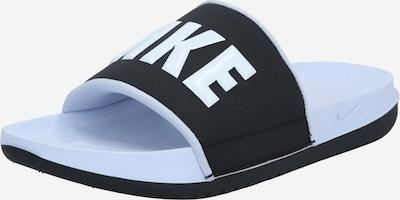 Nike Sportswear Чехли 'Offcourt' в светлосиньо / черно, Преглед на продукта