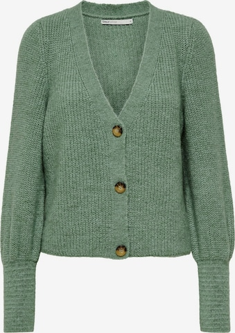 ONLY Knit Cardigan in Green