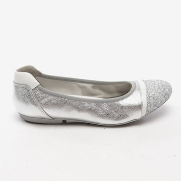 HOGAN Flats & Loafers in 37,5 in Silver