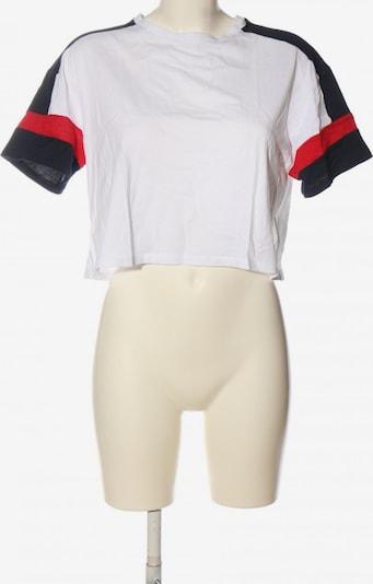 H&M Cropped Shirt in M in blau / rot / weiß, Produktansicht