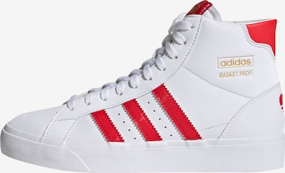 ADIDAS ORIGINALS Zapatillas deportivas en rojo / blanco, Vista del producto