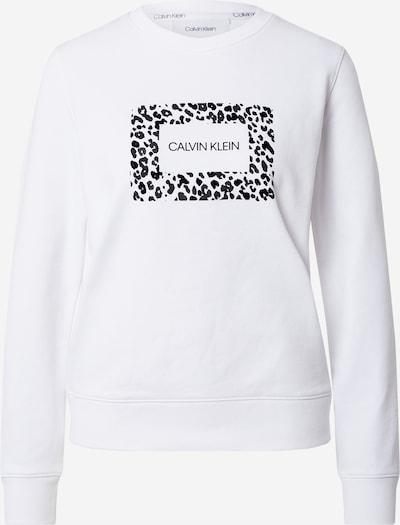 Calvin Klein Mikina - antracitová / černá / bílá, Produkt