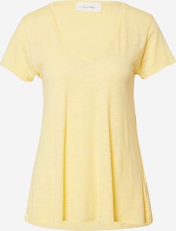 AMERICAN VINTAGE Tričko 'Jacksonville' - Žltá