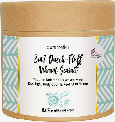 puremetics Body Lotion 'Vibrant Sealsalt No13 3in1 Dusch-Fluff' in Beige / White, Item view