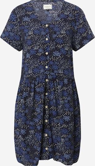 Iriedaily Robe-chemise 'Flowerbirds' en bleu marine / bleu roi / blanc, Vue avec produit