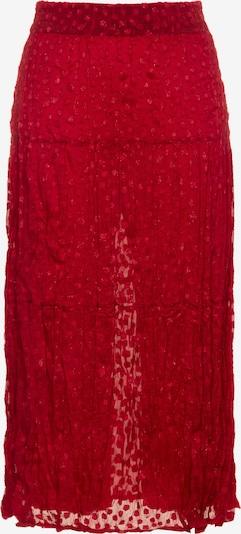 Ulla Popken Rock in rot, Produktansicht
