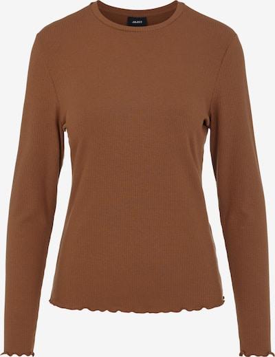 OBJECT Shirt 'OBJJAMIE' in de kleur Karamel, Productweergave