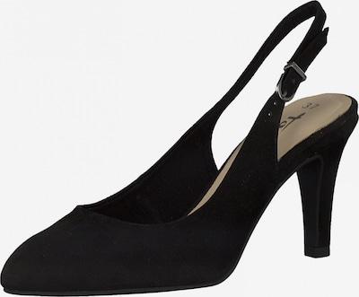 TAMARIS Cipele s potpeticom i otvorenom petom u crna, Pregled proizvoda