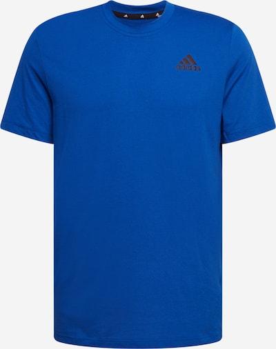 ADIDAS PERFORMANCE T-Shirt fonctionnel en bleu foncé / noir, Vue avec produit