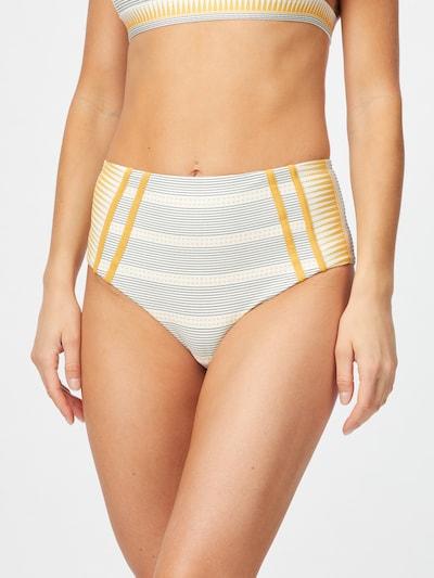 RIP CURL Bikinihose 'SALTY DAZE' in creme / gold / grau, Modelansicht