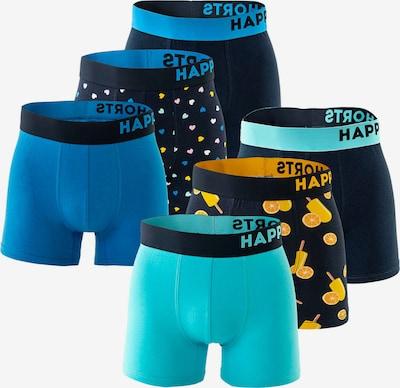 Happy Shorts Boxers en mélange de couleurs, Vue avec produit