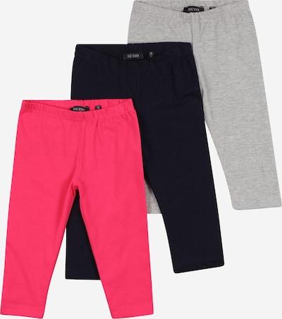 BLUE SEVEN Pantalón en azul noche / gris claro / rosa, Vista del producto