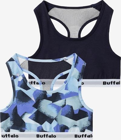 BUFFALO Bustier in Blue / Light blue / Black / White, Item view