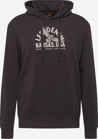 Lee Sweatshirt in Schwarz