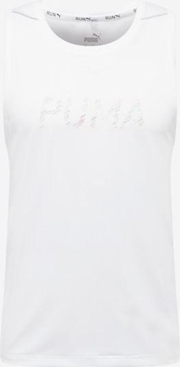 PUMA T-Shirt fonctionnel en mélange de couleurs / blanc, Vue avec produit