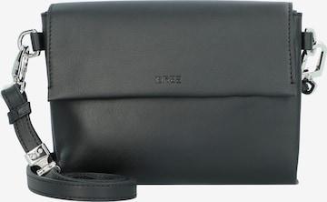 BREE Pure 11 Umhängetasche Leder 20 cm in Schwarz