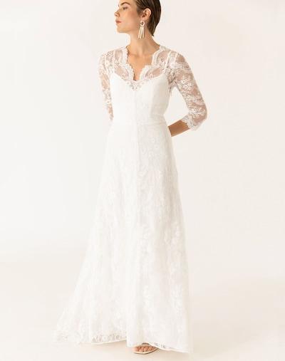 Rochie de seară IVY & OAK pe alb, Vizualizare model