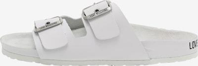 Love Moschino Muiltjes in de kleur Wit, Productweergave