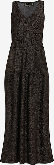 Rochie de seară faina pe auriu / negru, Vizualizare produs