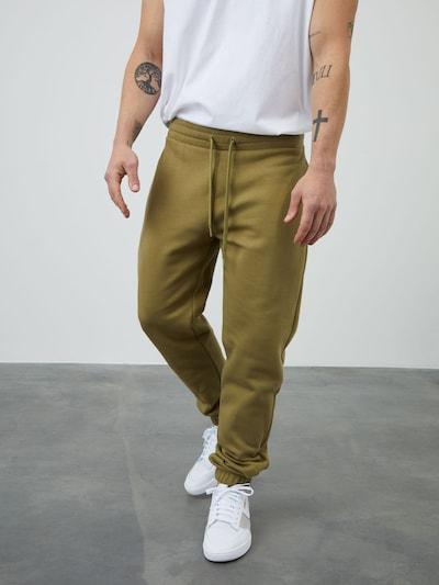 DAN FOX APPAREL Jogginghose 'Danilo' in khaki, Modelansicht