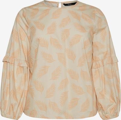 Bluză Vero Moda Curve pe bej / portocaliu piersică, Vizualizare produs