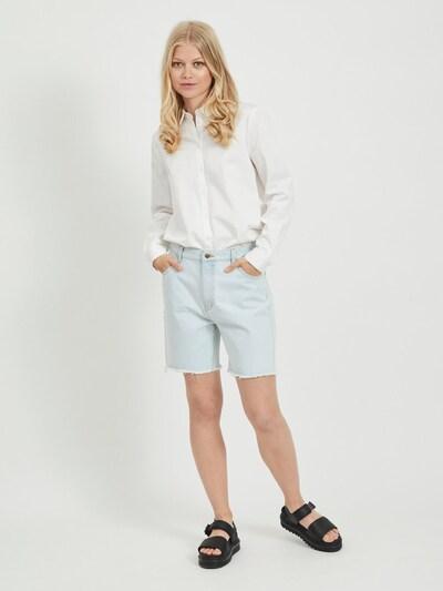 OBJECT Jeansshorts in blau, Modelansicht