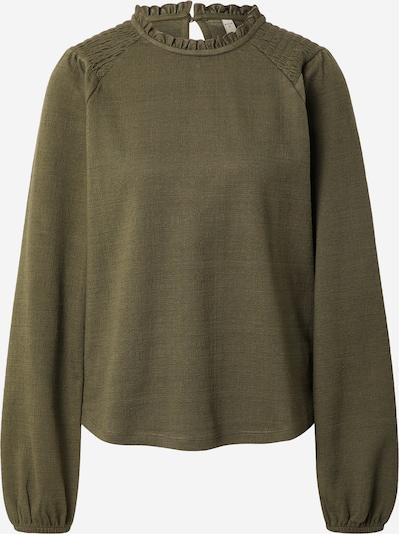 PULZ Jeans Bluse  'AMRA' in khaki, Produktansicht