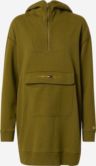 Tommy Jeans Kleid in navy / gold / oliv / rot / weiß, Produktansicht
