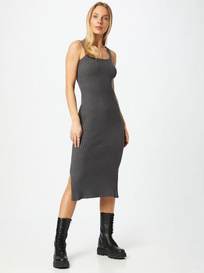 WAL G. Pletené šaty 'CHASE' - tmavosivá, Model/-ka