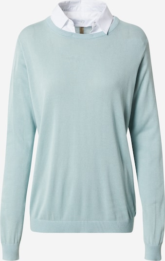 Soyaconcept Pullover 'PALOMA 4' in mint / weiß, Produktansicht
