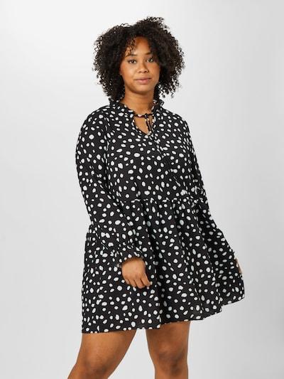 Z-One Kleid 'Michaela' in schwarz / weiß, Modelansicht