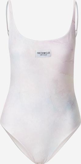 PARI Swimsuit 'SWIM CLUB' in Pink / White, Item view
